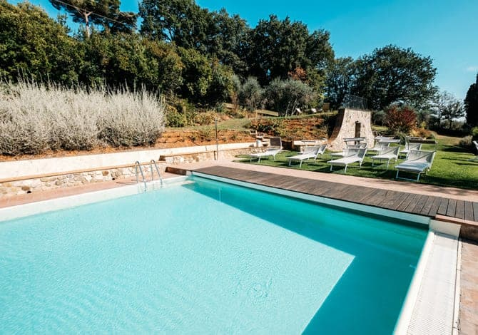 borgo grondaie summer wellbeing pool