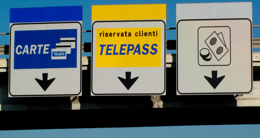 How to pay toll roads in Italy
